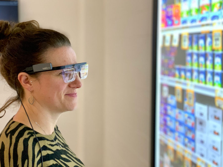 Eye tracking new shopper research technology