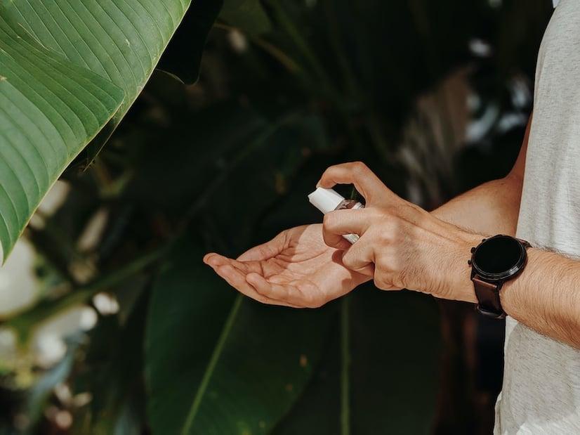 effective, natural hand sanitiser