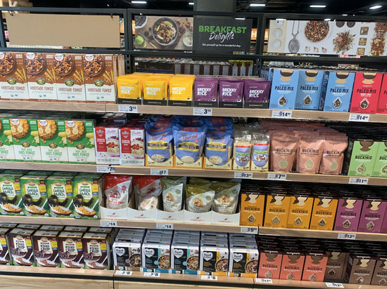 FMCG Woolworths health-focussed products