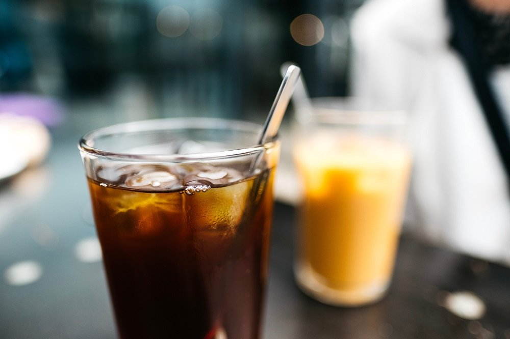 Cold brew coffee replacing soft drink