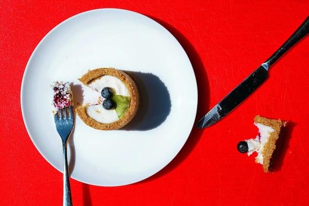 sensory test using cake