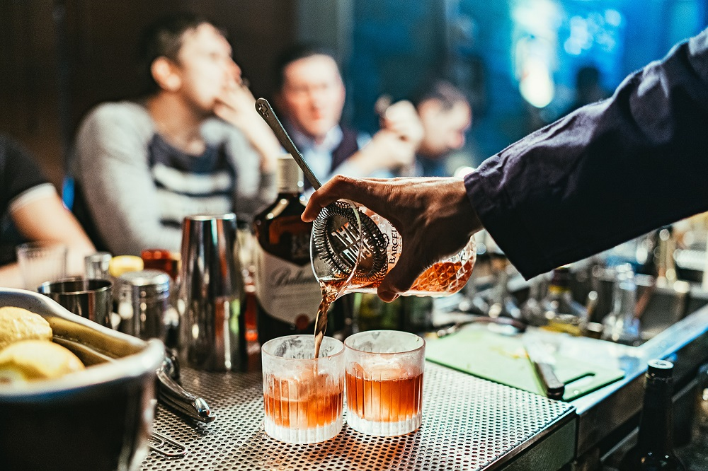 People are buying more premium alcohol