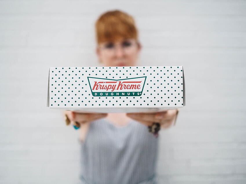 krispy kreme packaging research